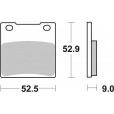 SBS 556LS SUZUKI GSX600/750/1200 REAR