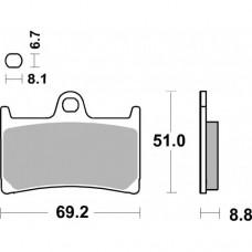 SBS 634HS YAMAHA120-1000-1900CC FRONT